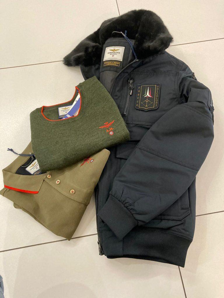 Aeronautica Militare abbigliamento ad Alba